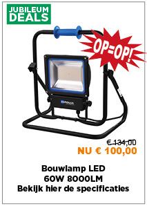 Bouwlamp LED 60W