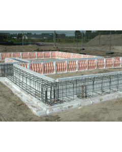 Isobouw Powerkist PS-Funderingsbekisting zijwand 45cm