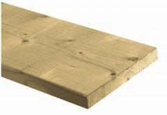 Plank Vuren geimpregneerd NE geschaafd 028/195