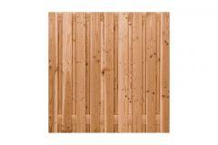 Scherm Douglas 180x180cm recht 19 planken geschaafd CarpGarant