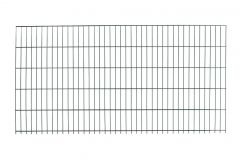 Dubbelstaafs gaasmat 100x200cm antraciet