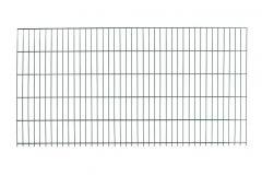 Dubbelstaafs gaasmat 120x200cm antraciet