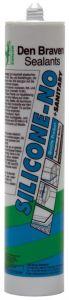 Den Braven Zwaluw Silicone-No + Sanitary siliconenkit wit 310ml