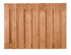 Scherm Douglas 150x180cm recht 19 planken ruw CarpGarant