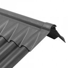 Eternit Ecolor K-nok 2-delig VL310 zwart 1,100 m
