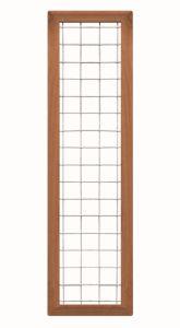 Draadscherm Bangkirai Kader maas 10 180x45