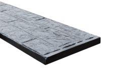 Onderplaat Beton antr rotsmotief Gecoat 36x3,5x184