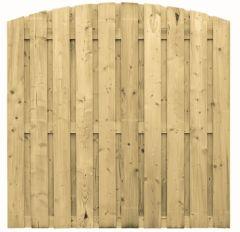 Scherm Vuren toog vert. 19 planks CarpG 180x180