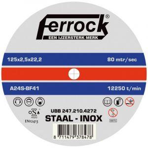 Ferrock Doorslijpschijf Metaal 115X2.5