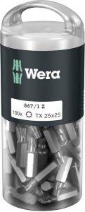 Wera 867/1 Z TORX® TX 25 DIY 100 Bit 867/1 Z Tx 25 100St.072449