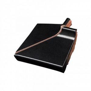 Raamdorpel uitwendige hoek Terca 16cm zwart verglaasd