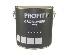 Profit Grondverf Wit-Bouw 2500 Ml