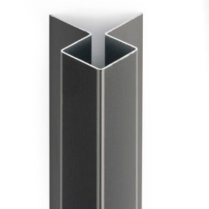 Eternit Cedral Click buitenhoek alu C01 20x20mm 300cm