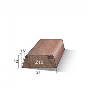 Meranti Glaslat 12 x 32 mm Z12