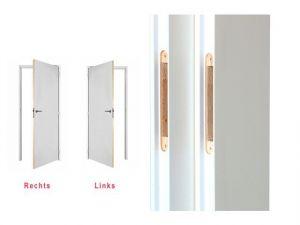 Berkvens Berklon Board Deur Opdek Links Gelakt Reinwit Vlak 88 x 231,5 cm