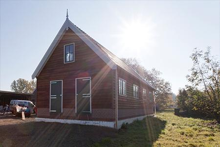Project monumentale boerderij met twee woningen in Honsdijk