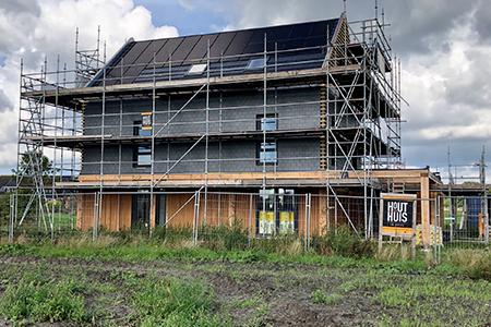 Project nieuwbouwwoning in Ursem