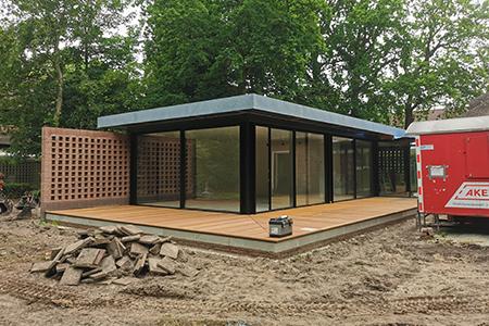 Meer informatie over ons project van een uitbouw van een woning in Warmond