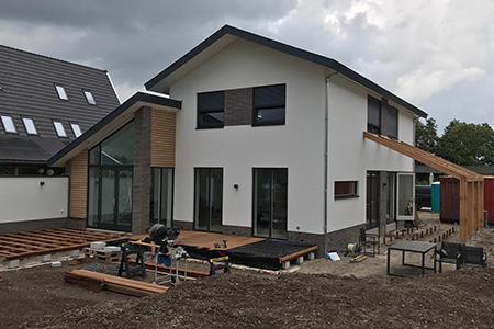 Project nieuwbouwwoning in Nieuwkoop
