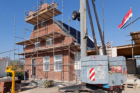 Project nieuwbouwwoningen aan het water in Leimuiden