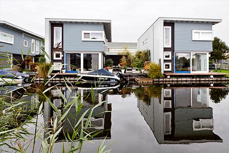 Project dorpshaven in Aalsmeer