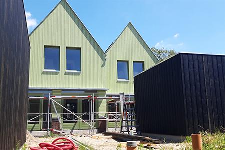 project nieuwbouwwoningen in Zaandijk