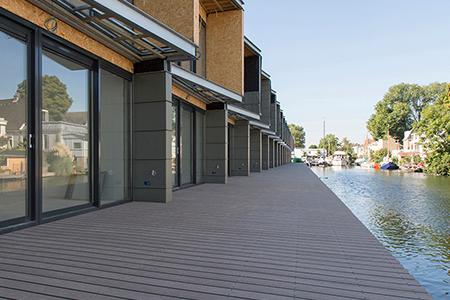 Project woon-werkhuizen in Amsterdam