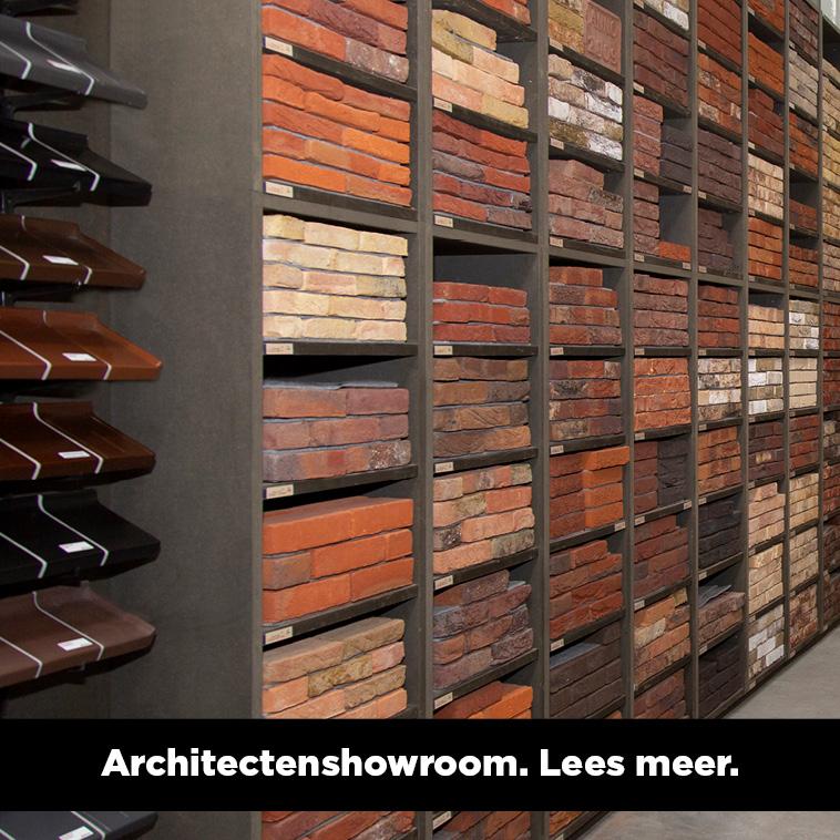 Meer informatie over onze showroom voor architecten