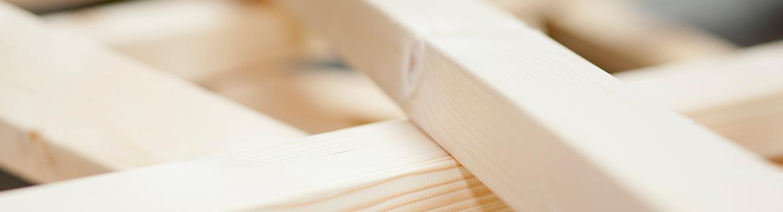 Assortiment hout en plaatmateriaal