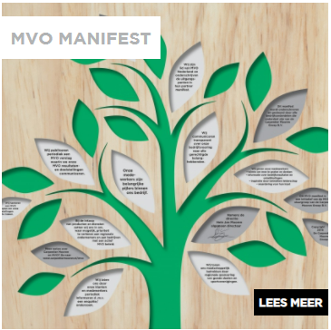Meer informatie over het MVO manifest