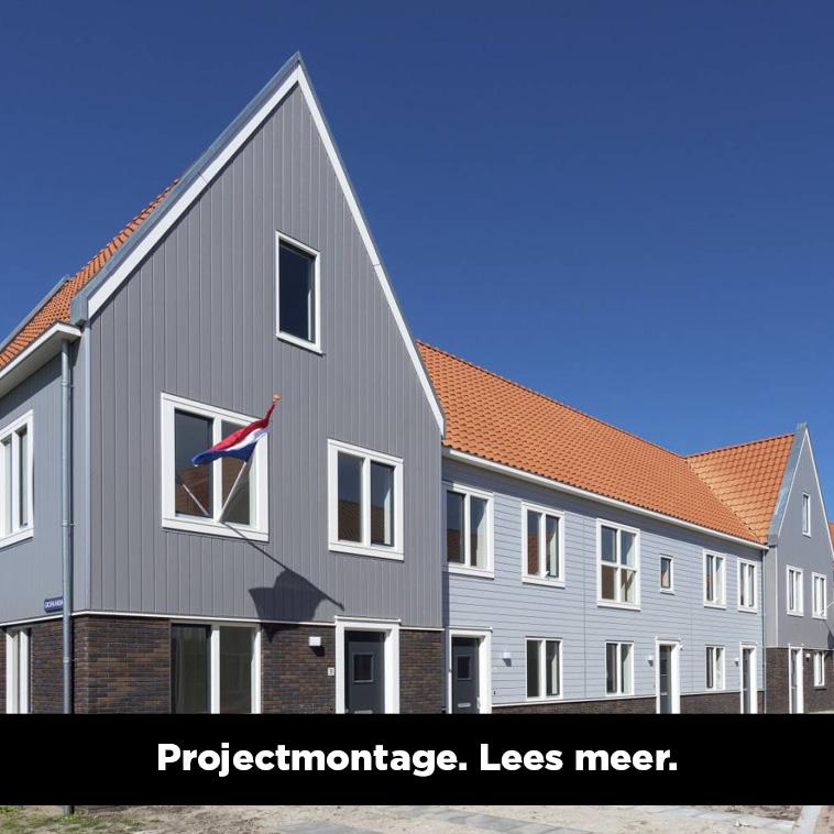 Wij kunnen in samenwerking met onze partners een compleet bouwdeel van jouw project verzorgen
