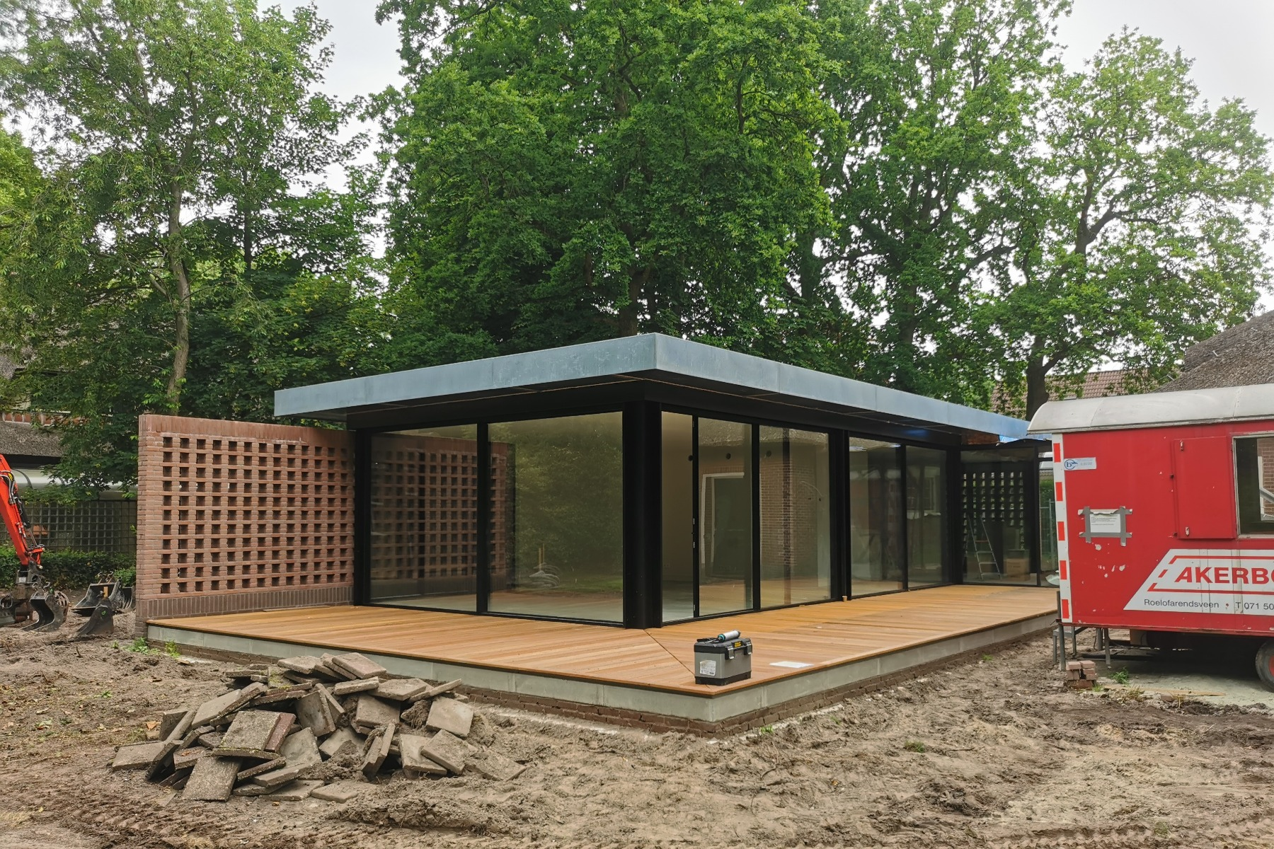 Ons bouwproject in Warmond
